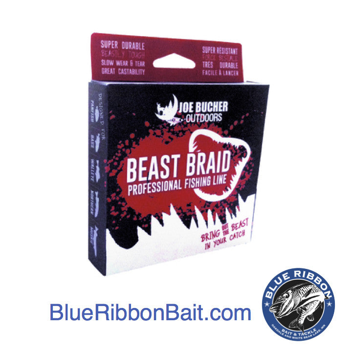 Joe Bucher Outdoors | Beast Braid Professional Fishing Line -  - Joe Bucher Outdoors - Blue Ribbon Bait & Tackle