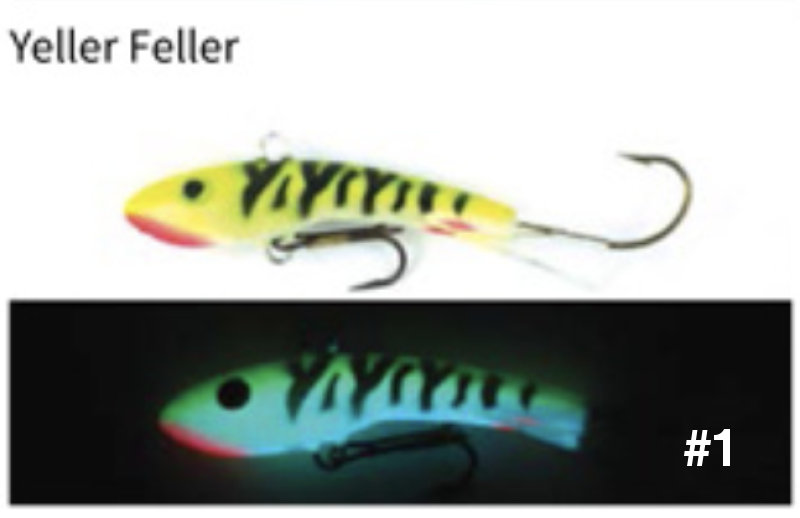Moonshine Lures | Shiver Minnow (Super Glow)