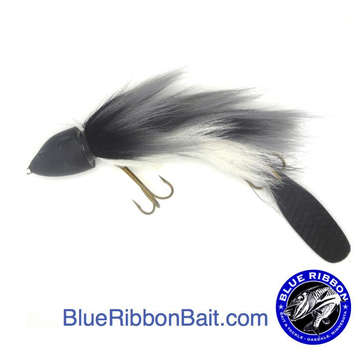 Beaver's Baits | Baby Beaver XL-Beaver's Baits-Grey Ghost-Blue Ribbon Bait & Tackle