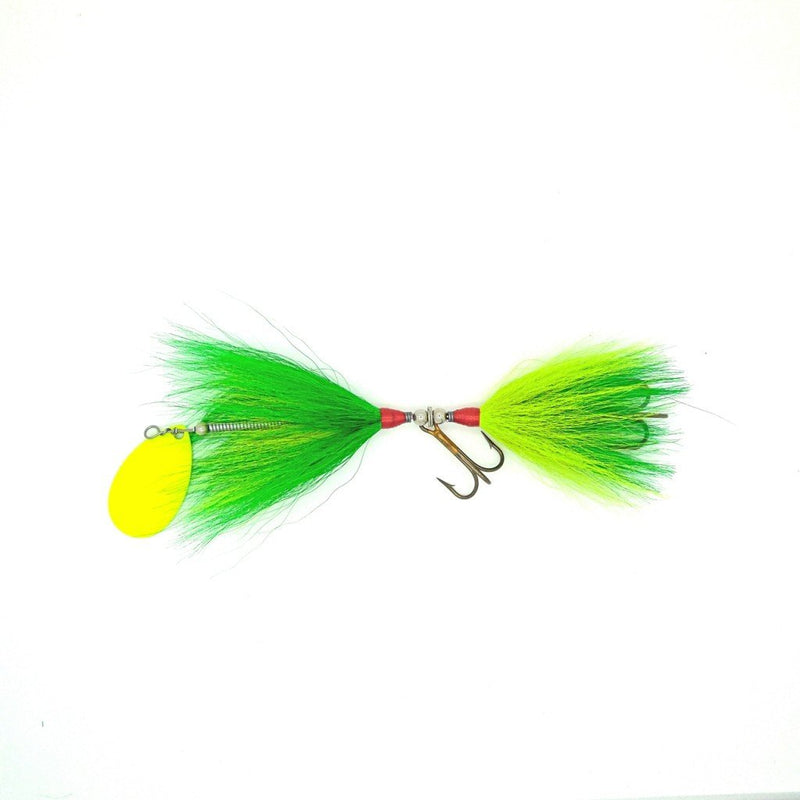 Dreamcatcher Bucktail | Standard-Dreamcatcher-Green/Chart w/ Yellow blade-Blue Ribbon Bait & Tackle