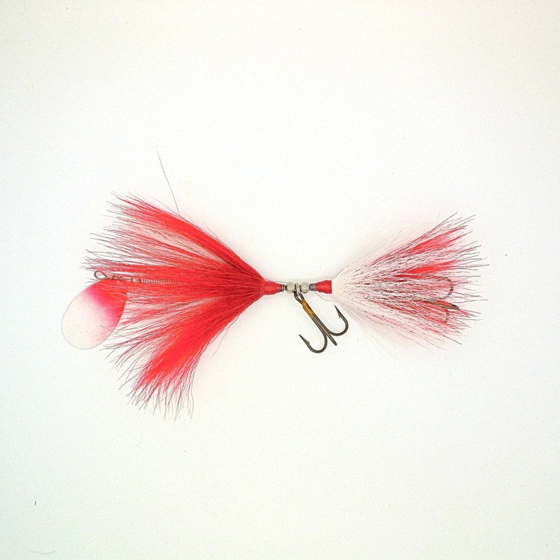 Dreamcatcher Bucktail | Standard-Dreamcatcher-Red/White w/ Red/White blade-Blue Ribbon Bait & Tackle