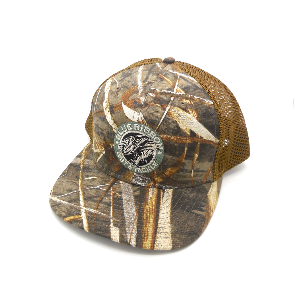 Blue Ribbon Bait & Tackle | Nature Camo Cap