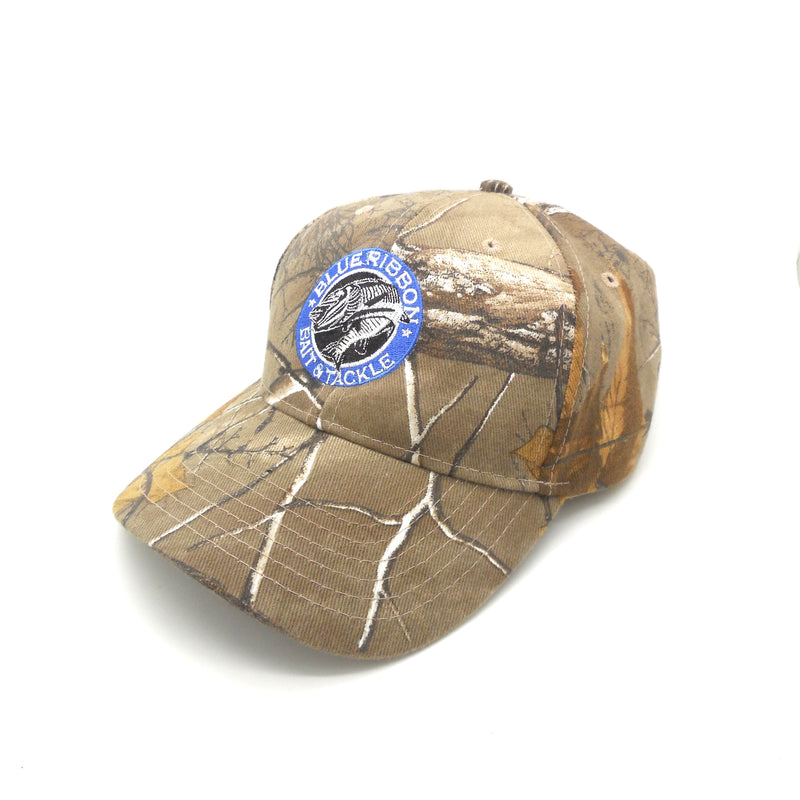 Blue Ribbon Bait & Tackle | Flex-Strap Camo Cap