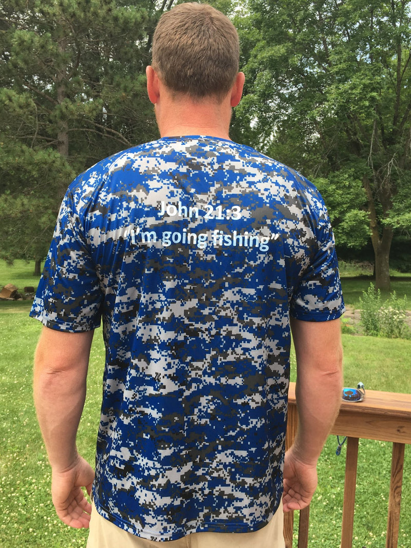 Blue Ribbon | Camo Design John 21:3 -  - Blue Ribbon Bait & Tackle - Blue Ribbon Bait & Tackle