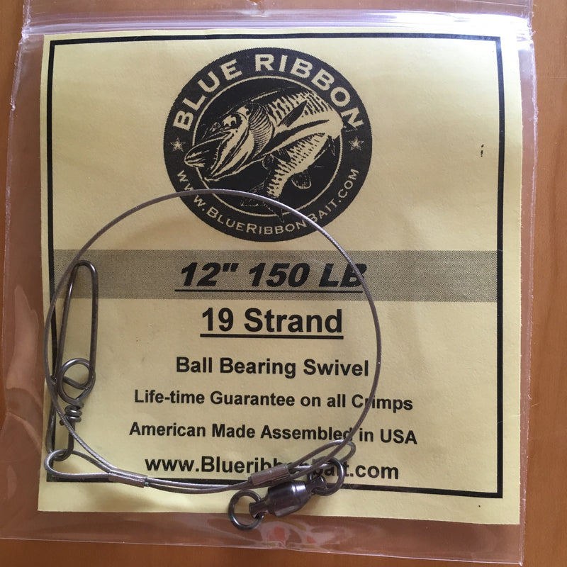 Blue Ribbon Bait & Tackle | 19 & 21 Strand Steel Leader