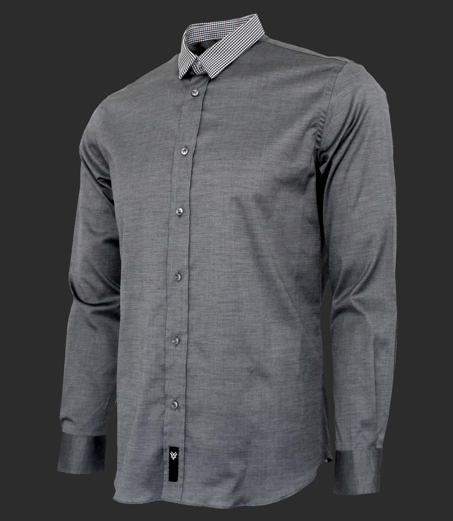 Shirt with contrast neck - Limited Edition - Mod. UNION