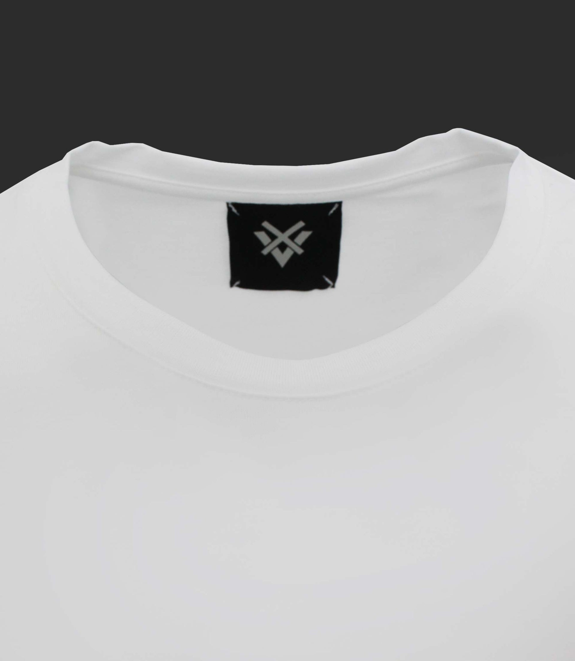 Basic crewneck tee - Mod. MINIMAL - Optical White