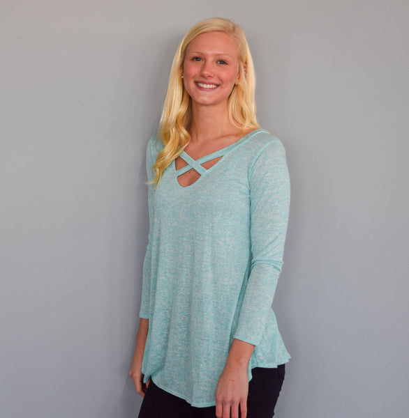 Mint Tunic Top