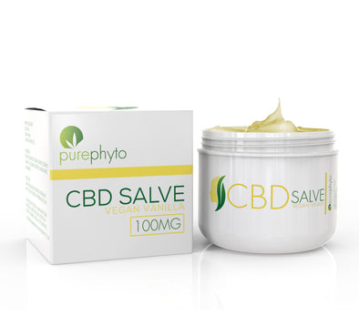 CBD Salve Vegan Vanilla - 100mg