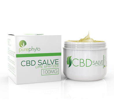 CBD Salve Lime Spritzer - 100mg
