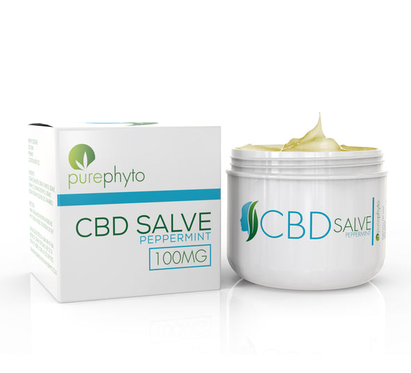 CBD Salve Peppermint - 100mg