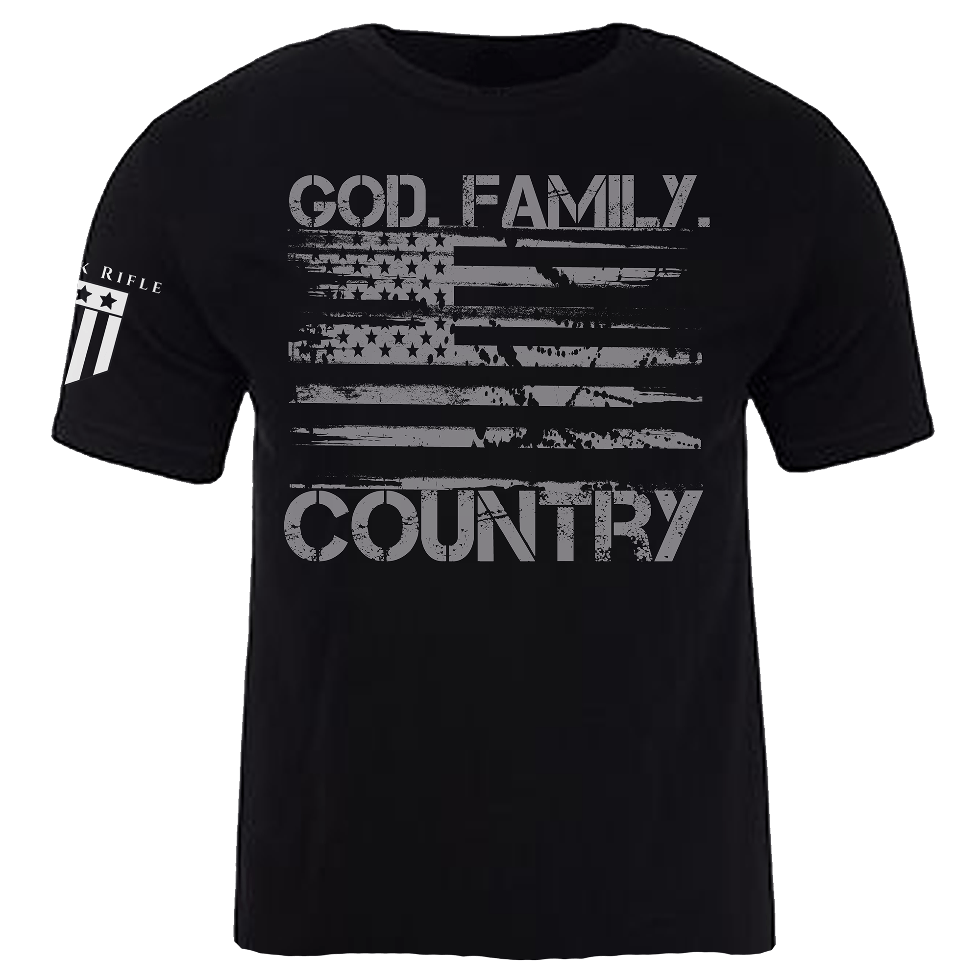 God. Family. Country. Men's - Rock Rifle Trading Co. Patriotic, Veteran Clothing and Apparel