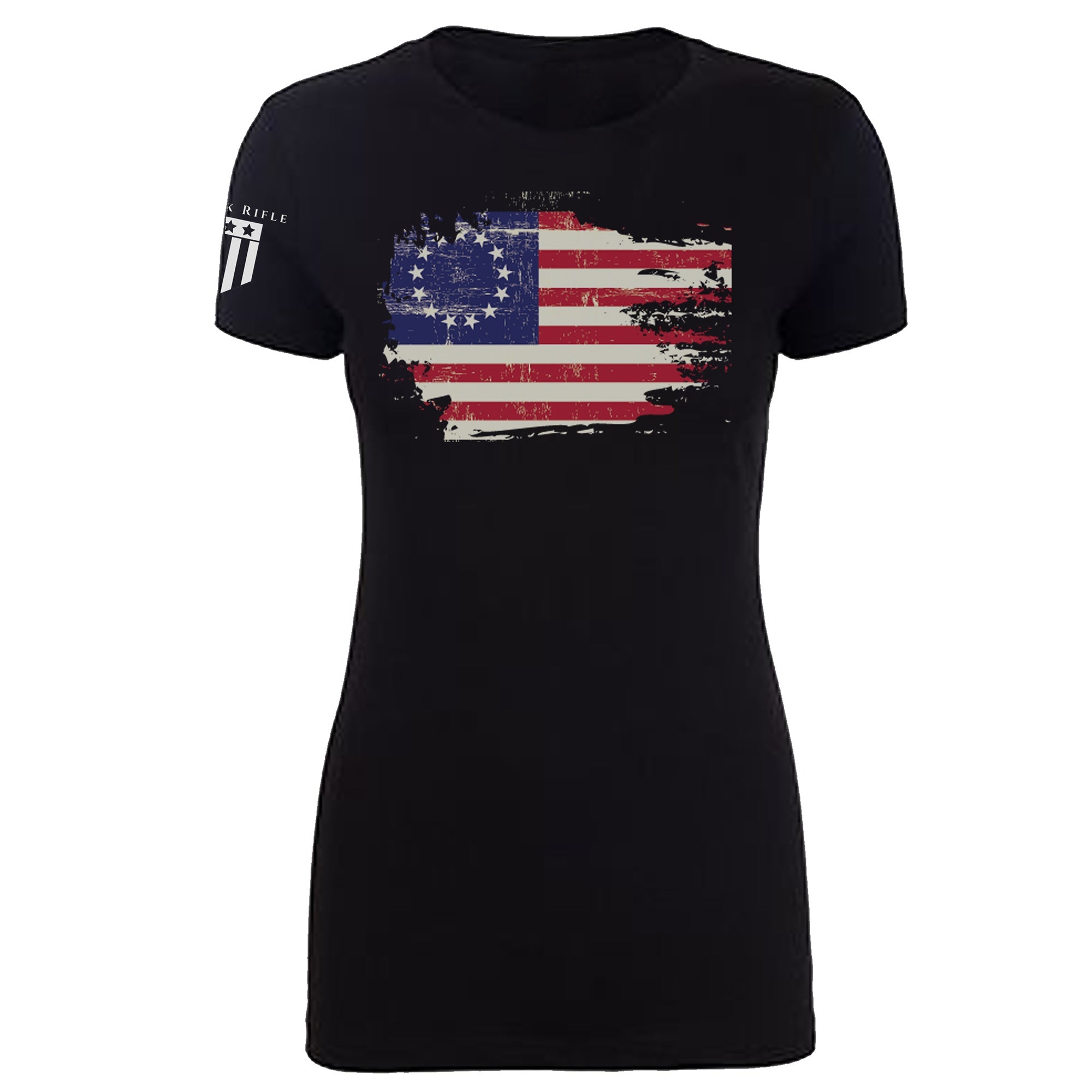 Original Colonies Flag Women - Rock Rifle Trading Co. Patriotic, Veteran Clothing and Apparel