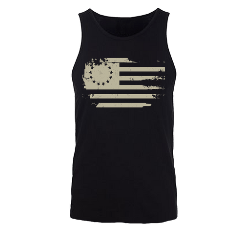 Original Colonies Flag Tank White
