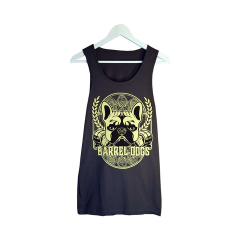 Beer Label Men's Tank - Barrel Dogs