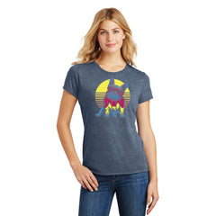Frenchie Sunset Women's Tee - Barrel Dogs