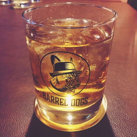 Barrel Dogs Whiskey Glass Set of Four - Barrel Dogs