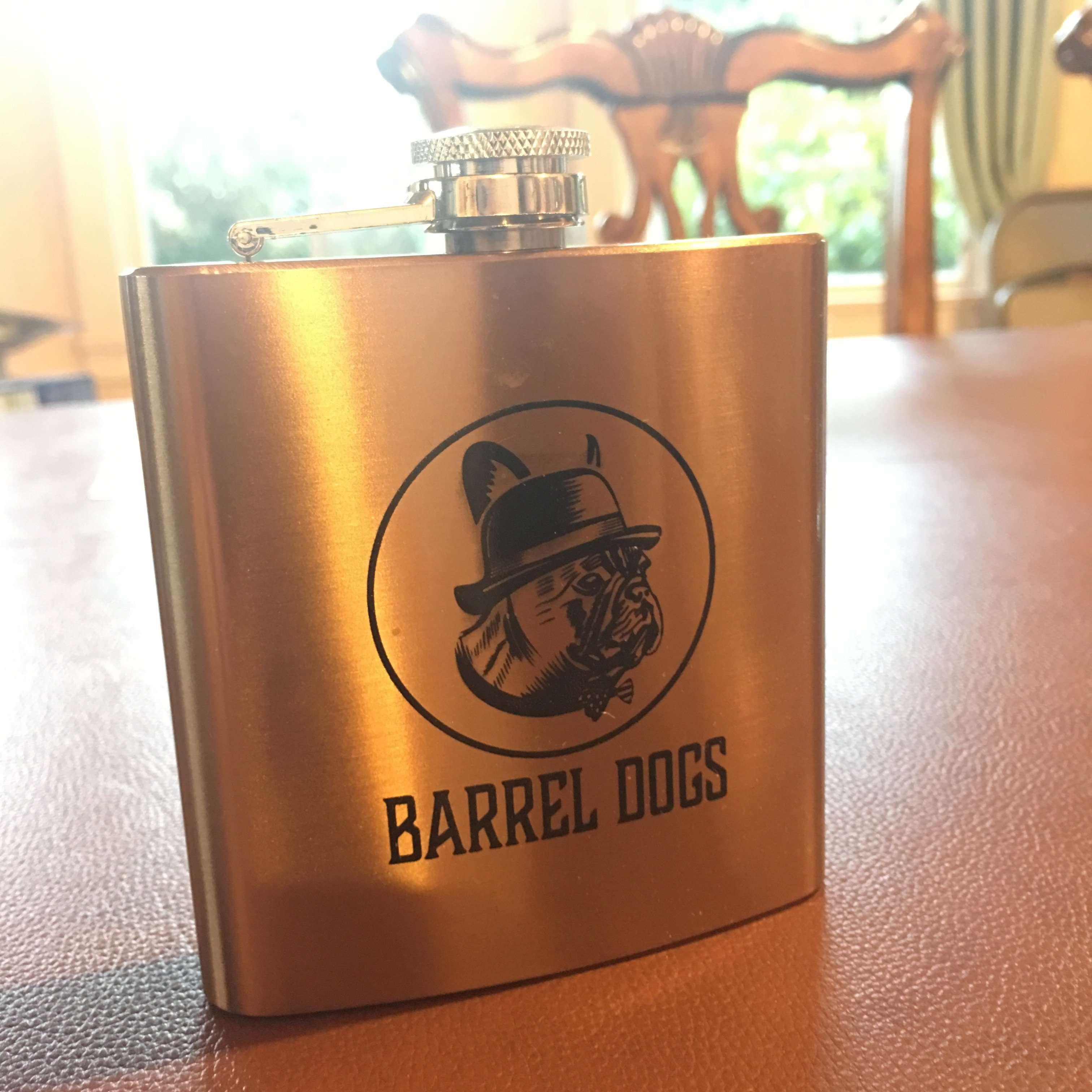 Barrel Dogs Flask - Barrel Dogs