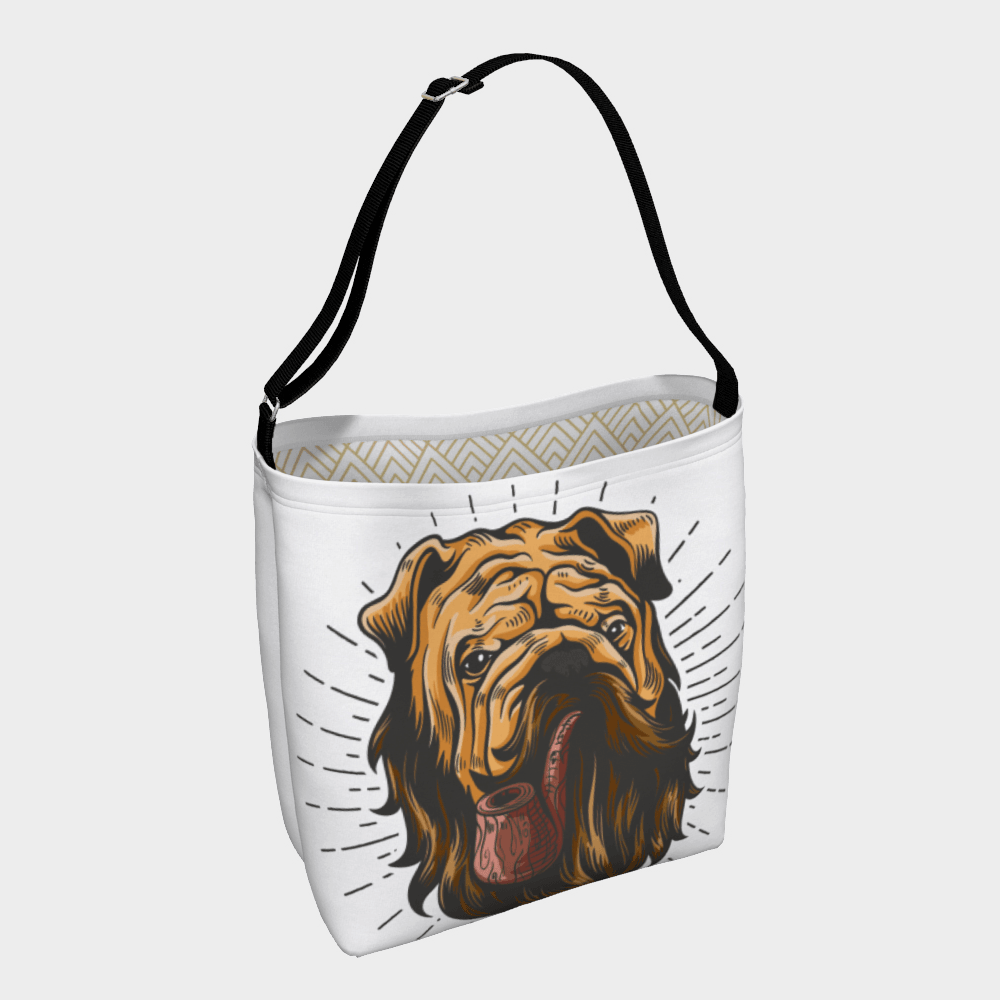 English Day Tote - Barrel Dogs