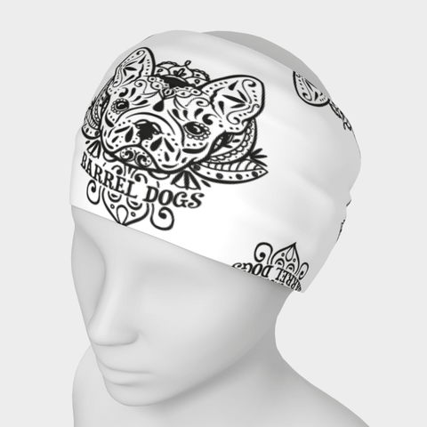 Sugar Skull Headband - Barrel Dogs