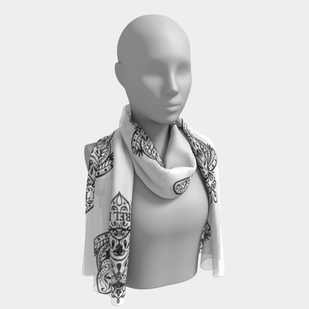 Sugar Skull Scarf - Barrel Dogs