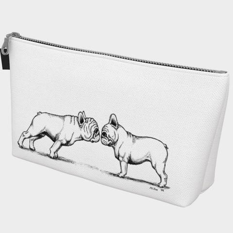 Frenchie Love Make Up Bag - Barrel Dogs