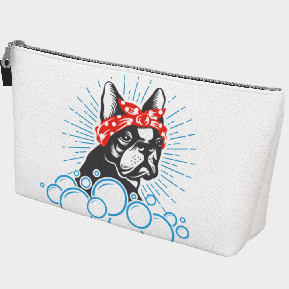 Frenchie Bubble Makeup Bag - Barrel Dogs
