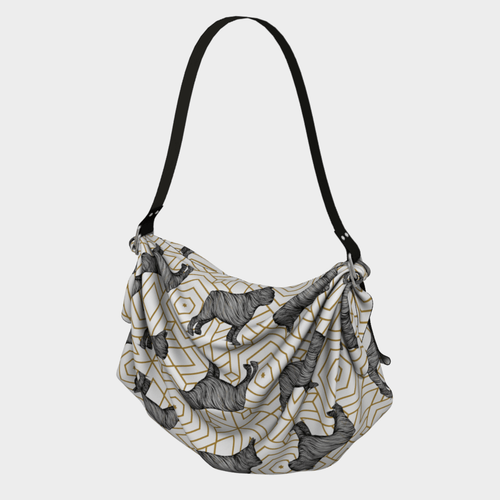 Frenchie Origami Tote - Barrel Dogs