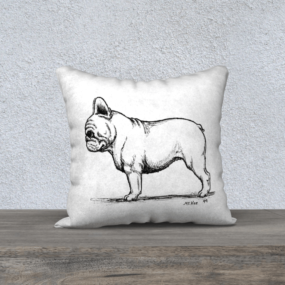Frenchie Love Pillows - Barrel Dogs