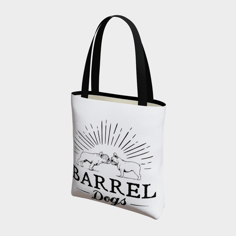 Frenchie Love Tote - Barrel Dogs