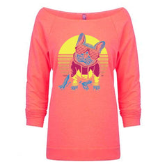 Frenchie Sunset Pullover - Barrel Dogs