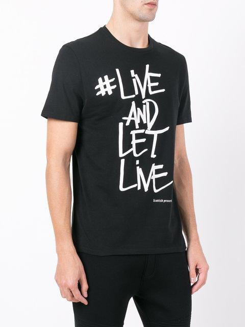 CAMISETA LIKE AND LET