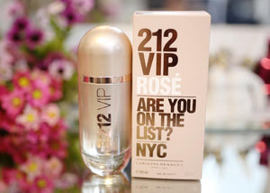 PERFUME CAROLINA HERRERA 212 VIP ROSE WOMAN