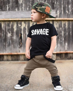 CAMISETA SAVAGE KIDS