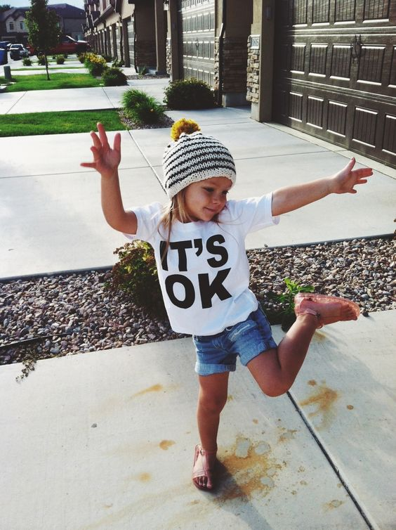 CAMISETA IT´S OK KIDS