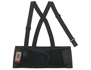 ProFlex 1650 Economy Elastic Back Support Belt Large Black