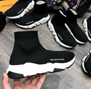 BALENCIAGA MEDIA NEGRO BLANCO