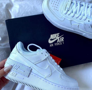 AIR FORCE ONE SHADOW BLANCO TODO