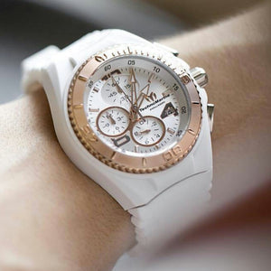 TECHNOMARINE CRUISE JELLYFISH CHRONOGRAPH SIRVER DIAL LADIES