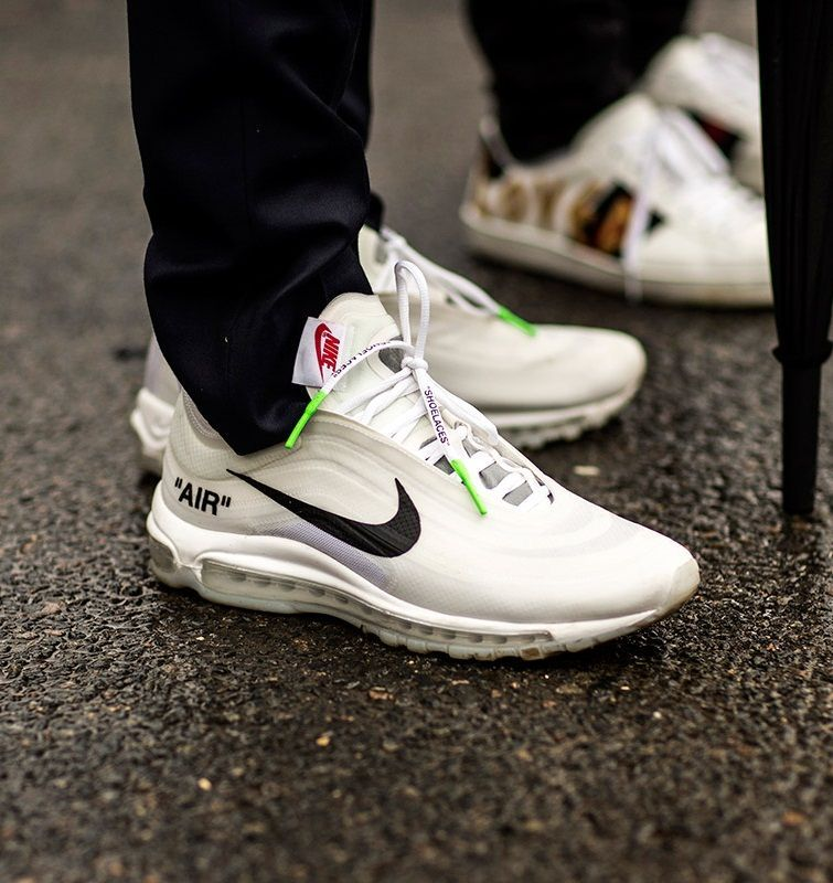 NIKE AIR 97 OFF WHITE BLANCO