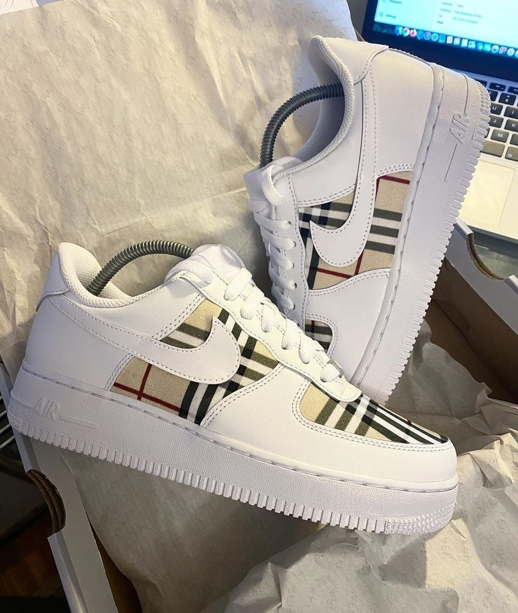 AIR FORCE ONE SHADOW BURBERRY