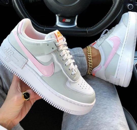AIR FORCE ONE SHADOW GRIS ROSA