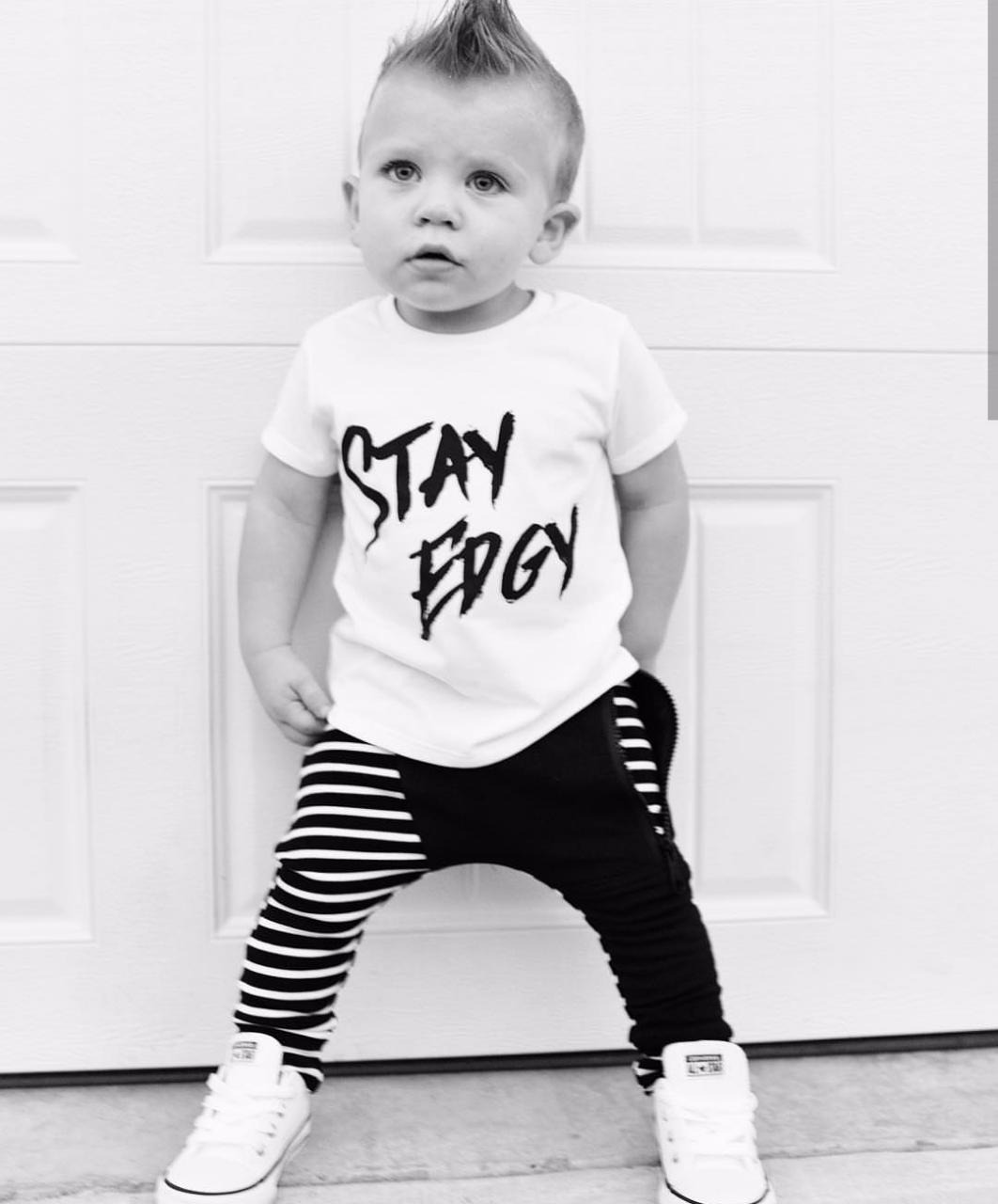 CAMISETA STAY EDGY KIDS