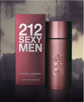PERFUME CAROLINA HERRERA 212 SEXY CH MEN