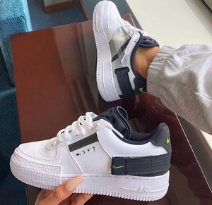 NIKE AIR FORCE ONE 453 MUJER