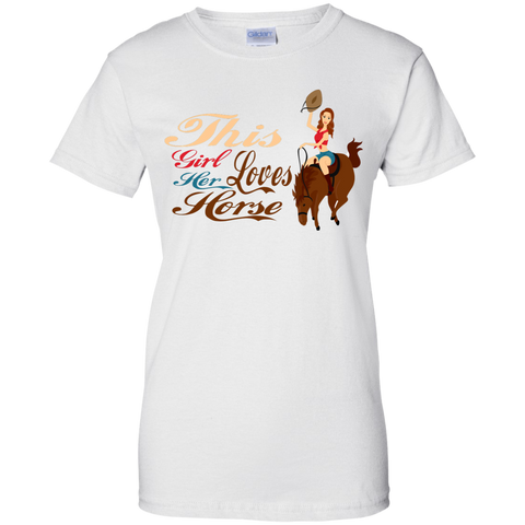 This Girl Loves Her Horse Fitted