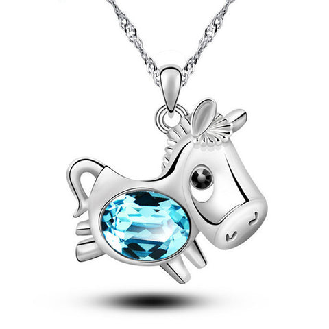 Cute  Lucky Horse Necklace