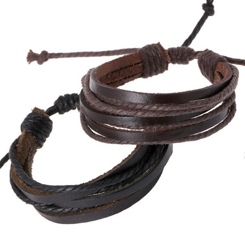 Leather bracelat for horse lovers.