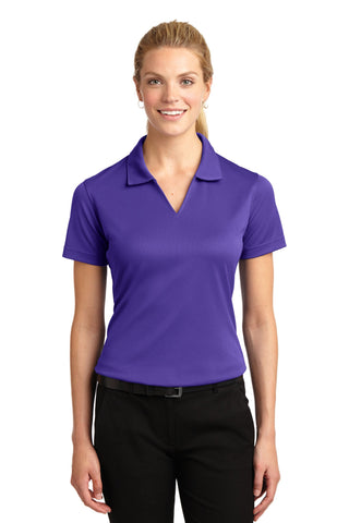 Sport-Tek® Ladies Dri-Mesh® V-Neck Polo