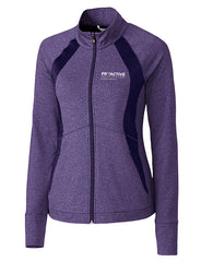 CB Ladies L/S Shoreline Colorblock Full Zip